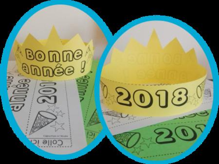 La couronne du Nouvel an 2018