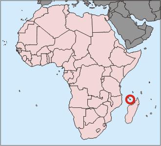 Localisation Mayotte Carte Monde | casamagenta