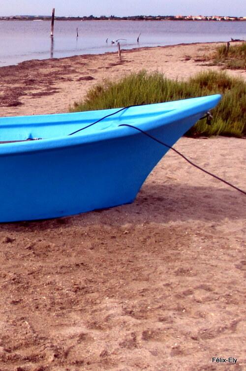 Une barque de pêcheur