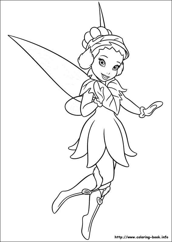 Coloriage La Fee Coquillette.Coloriage Les Fees De Disney Fairies Les Secrets De La