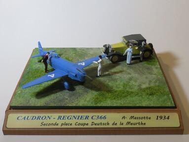CAUDRON C366 ATALANTE Alain MASSOTTE coupe Deutsch de la Meurthe 1934
