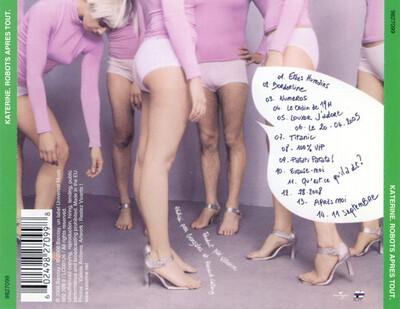 Frenchy But Chic # 120 : Katerine - Robots après tout (2005)