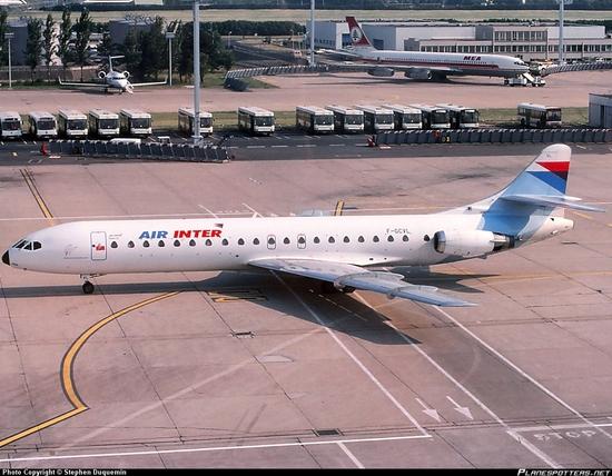F-GCVL-Air-Inter-Sud-Aviation-Caravelle_PlanespottersNet_349905