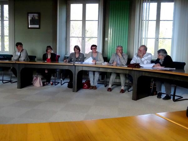 Dernière réunion du comité avant l'élection de Miss Côte d'or