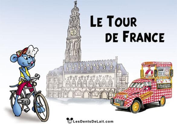 Le Tour de France passe à Arras