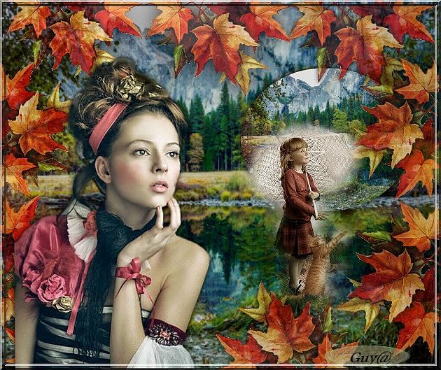 """""""Les feuilles sèches préparent la tisane de l'automne."""""""