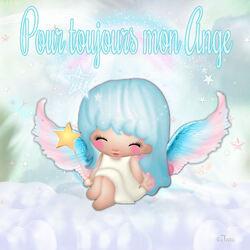 """Pour toujours mon ange """"Hommage bb garçon"""" (code inclu)"""