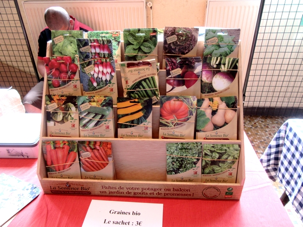 """""""La 20ème foire aux graines, Jardin et Nature"""" a eu  lieu le 20 mai 2018 à Recey sur Ource"""