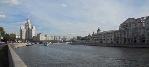 La moskva, Moscou