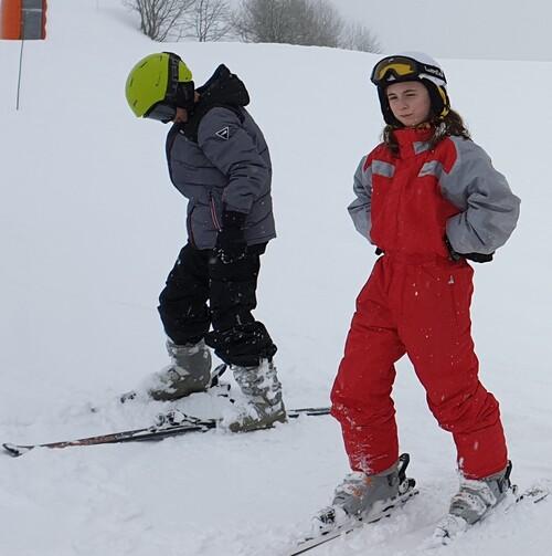 Dernier jour de ski