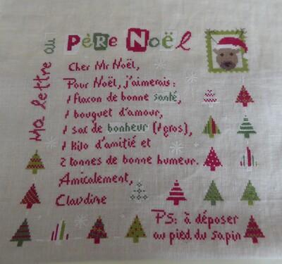 Ma lettre au Père Noël