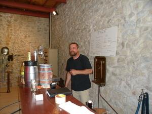 Visite de la brasserie Aguiana