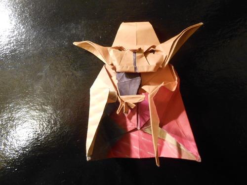 Origami Jedi Master Yoda  Star Wars