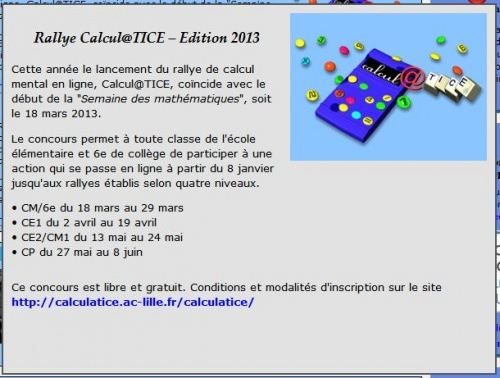 Rallye Calculatice