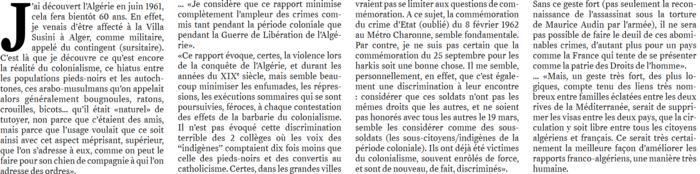 """Une page (p. 8) quasiment complète pour notre ami Henri Pouillot dans l'édition de ce jour du quotidien """"El Watan"""""""