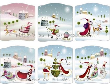 Noël ! Cartonnettes