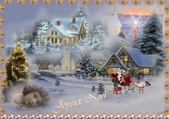 Mes cartes de Noël