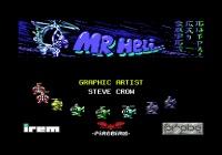 <IMG: Mr Heli C64 intro>