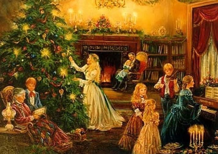 L'arbre de Noël ...