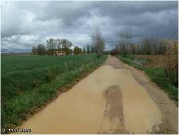 (J30) Calzadilla de los Hermanillos / San Nicolas del Real Camino 4 mai 2012 (2)