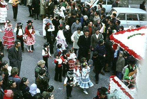Carnaval à Rivesaltes .... en 1974