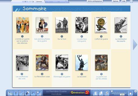 La première guerre mondiale - Documents numériques pour la classe