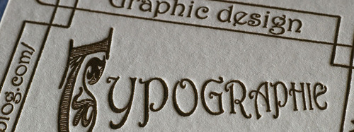 l'impression typographique