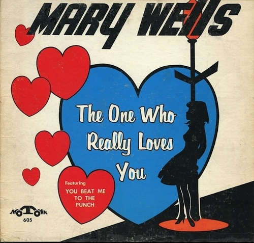 "Mary Wells : Album "" The One Who Really Loves You "" Motown Records MT 605 [ US ]"