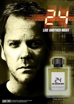 24h chrono le parfum: sentez le Jack Bauer :)