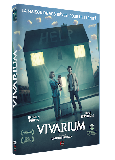 Le mystère VIVARIUM, avec Jesse Eisenberg : dispo aujourd'hui en DVD et Blu-ray !