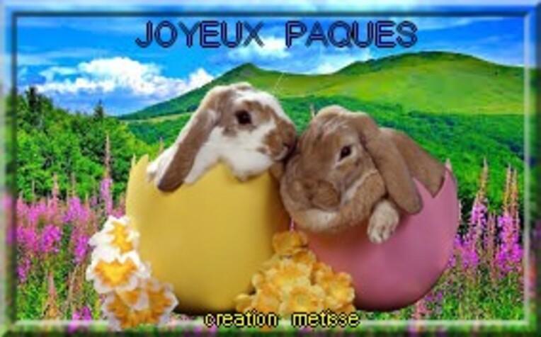 JOYEUX PAQUES