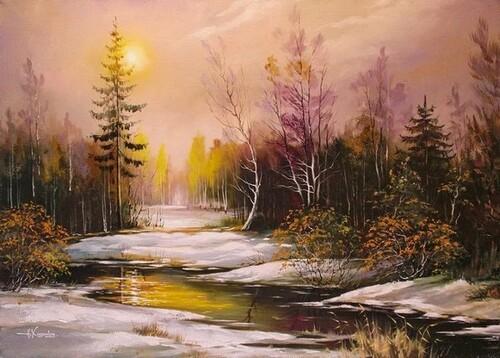 Peinture de : alexander HODYUKOV