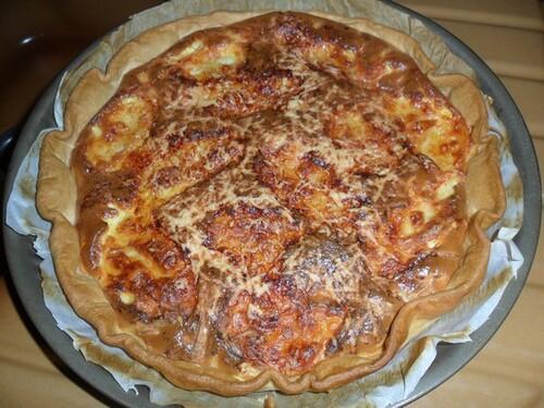 *** Quiche au surimi et mozzarella ***