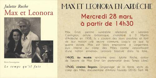 Après-midi spécial Max Ernst.