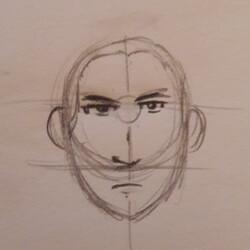 [Débutant] Proportions basiques visage Face et relief simple