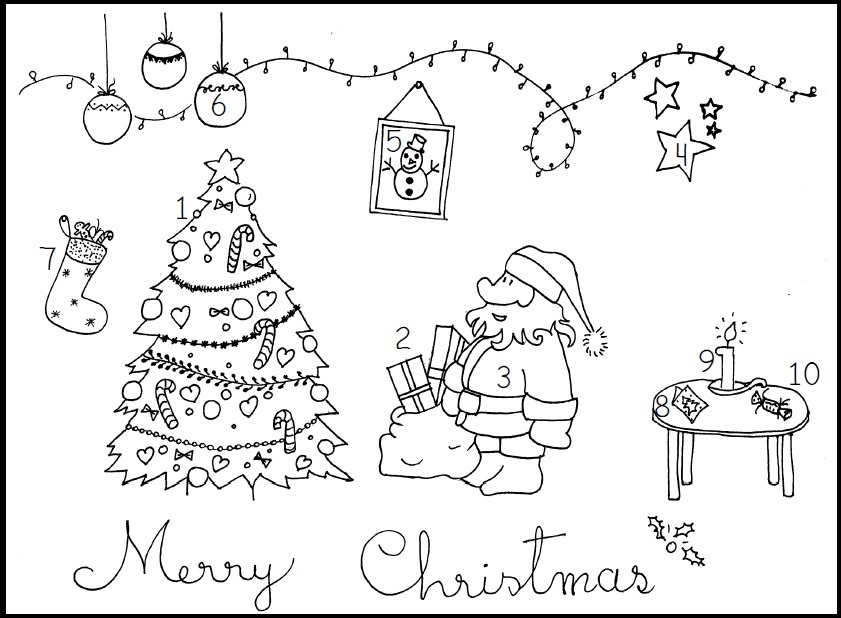 Anglais : vocabulaire de Noël