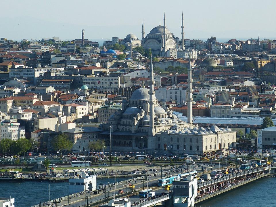 Istanbul, Turquie, Bosphore, Orient, Mosquée, Outlook