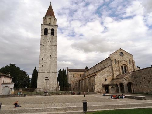 La basilique d'Aquilée (Aquileia) en Italie  (photos)