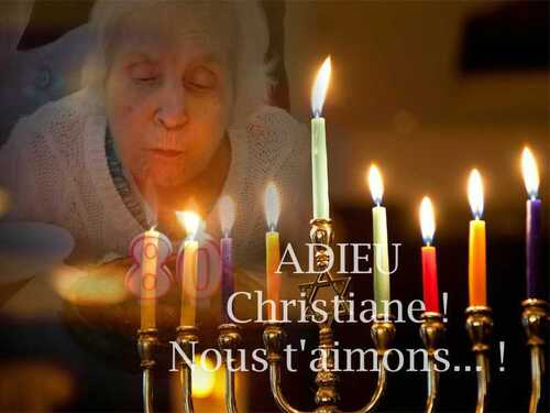 Adieu Christiane !