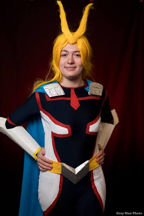 Cosplay Toulouse Game Show 2018 : All Might (Young Age)