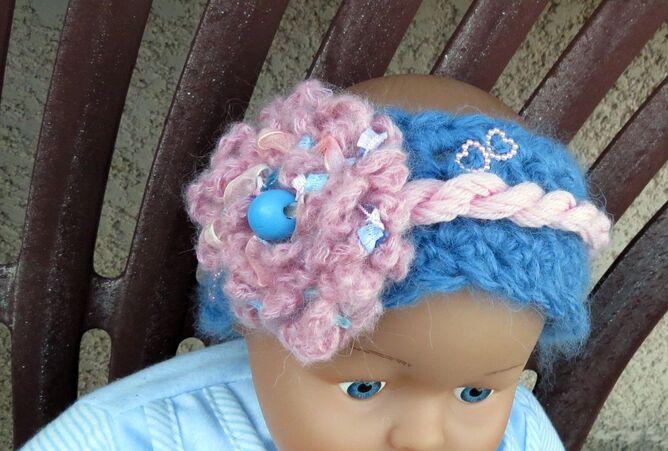 Bandeau et bonnet pour Manon