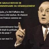 """De Gaulle, commémorer le """"débarquement des anglo-saxons"""" ?"""
