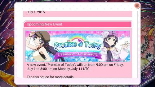Event de Nozomi