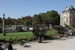 PARIS Le Jardin du Luxembourg (6è arrond)