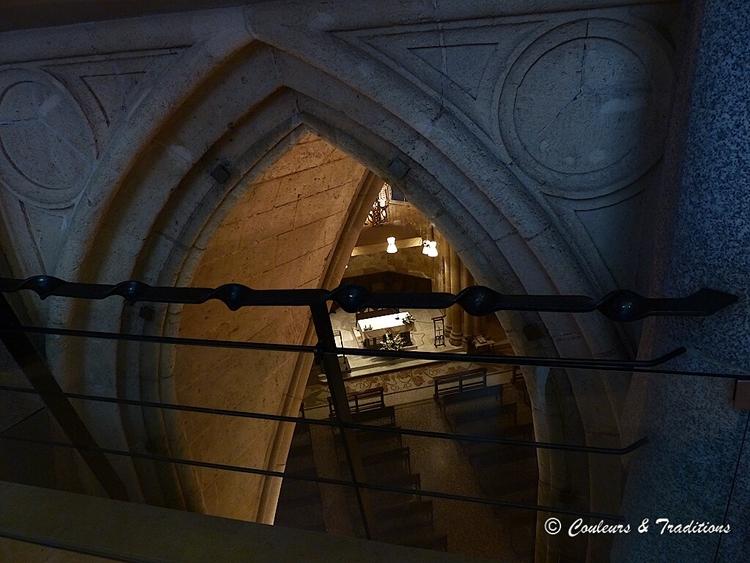 Sagrada Familia, l'intérieur
