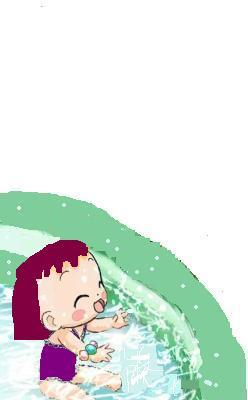 Bébé de Doremi19 piscine