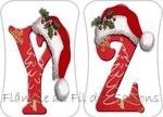 Abécédaire Noël bonnet !