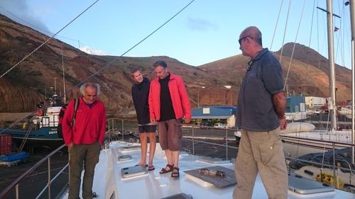 Visite VIP sur un voilier construit en amateur, mais incroyable
