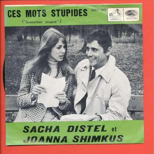 DISTEL, Sacha - Ces mots stupides, int. Joanna Shimkus (Chansons françaises)