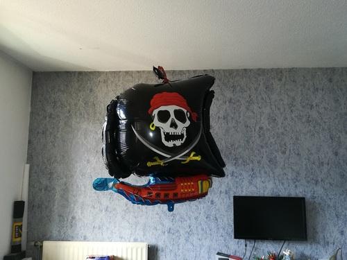 L'anniversaire de Florent : les pirates